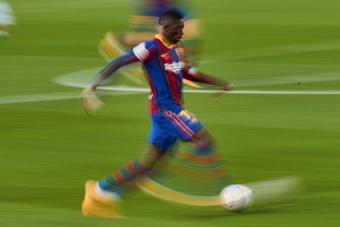 Le Barça a fait une offre de prolongation à Dembélé. EFE