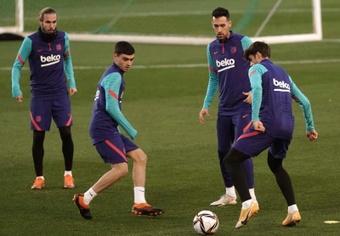 O futuro do Barça depende de quatro renovações cruciais. EFE /Rafa Alcaide