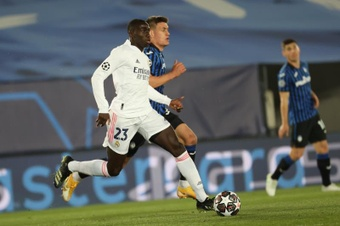 Mendy is losing muscle mass. EFE
