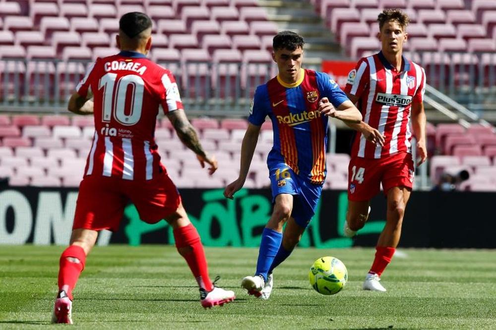 Atlético y Barcelona se enfrentarán en el Wanda Metropolitano. EFE