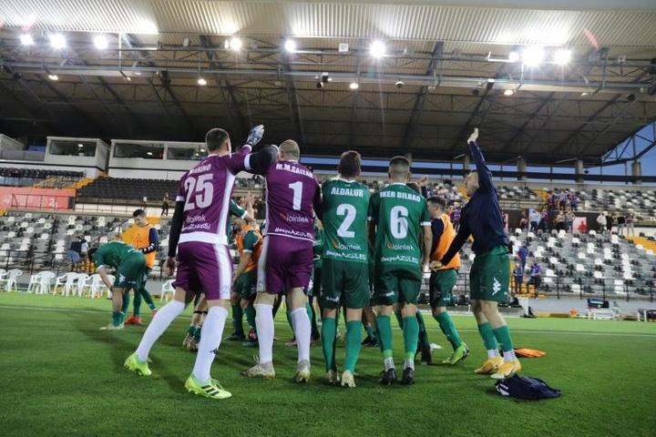 San Fernando y Linares Deportivo empataron a dos. EFE/Archivo