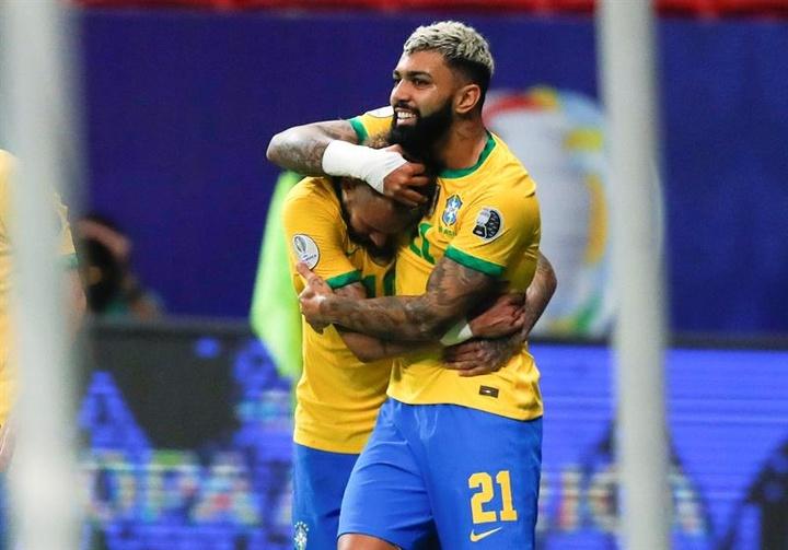 Le Brésil affronte l'Argentine ce dimanche soir. EFE