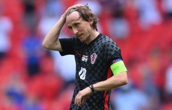 Quando Modric esteve três anos chateado com Mandzukic.EFE