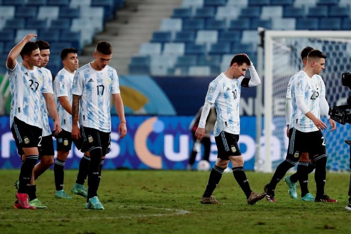 Le Brésil a demandé à placer quatre joueurs argentins en quarantaine. EFE