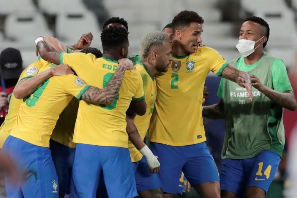 Atualidade do futebol brasileiro a 9 de setembro de 2021.EFE