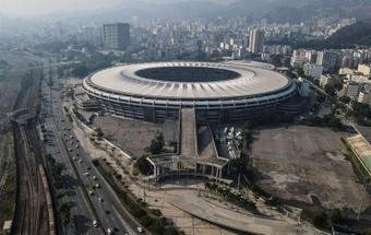 Notícias destacadas do futebol brasileiro. AFP