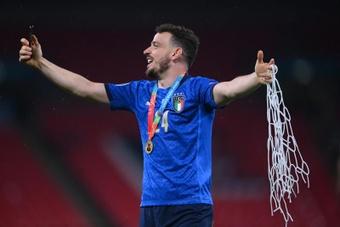 Florenzi chegaria a tempo para o Atlético.AFP