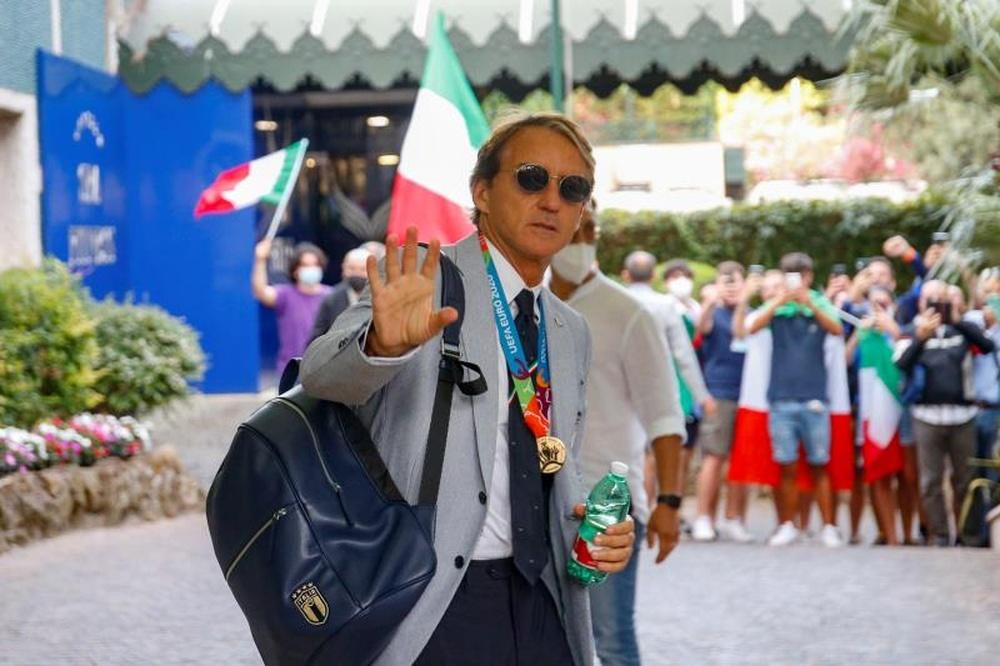 Mancini punta il Mondiale. EFE