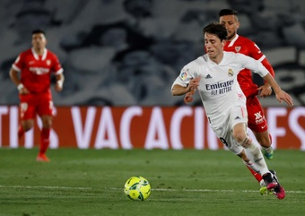 Real Madrid and Fiorentina have agreed to loan out Odriozola. EFE