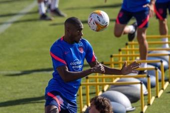 Kondogbia will miss the Barcelona game. EFE