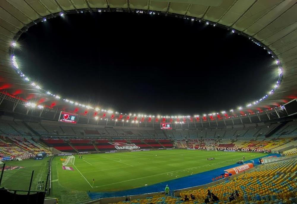 Atualidade do futebol brasileiro a 12 de setembro de 2021. EFE/Antonio Lacerda