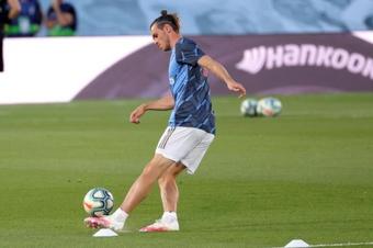 Bale no jugará ante el Celta. EFE