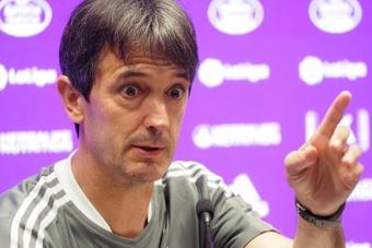 Pacheta volvió a hacer ganar al Valladolid, tras tres derrotas consecutiva. EFE/Archivo