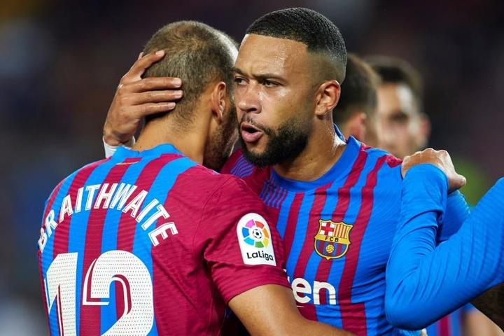 Depay: o salva vidas do Barça.EFE