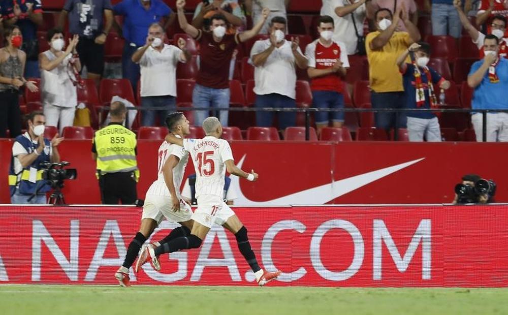 El Sevilla comenzará su nueva andadura en Europa este martes ante el Salzburgo. EFE