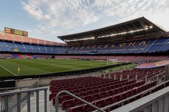 60 000 personnes pourront prendre place dans les travées du Camp Nou. EFE