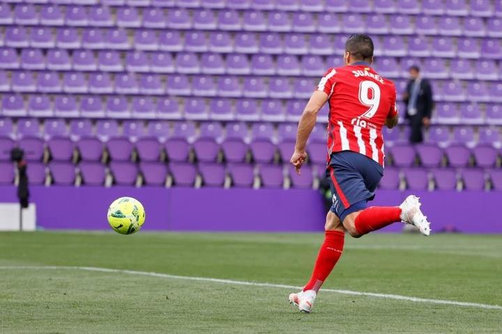Luis Suárez va faire son retour dans le onze de l'Atlético. EFE
