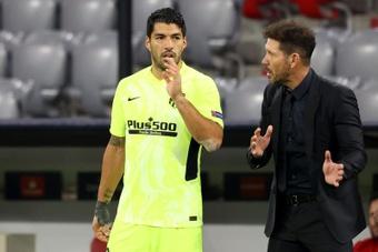 Simeone a prévu un traitement spécial pour Suárez. EFE