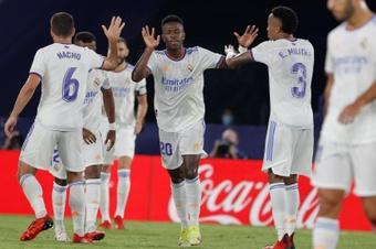 Le Real Madrid prend trois points face au Betis. EFE