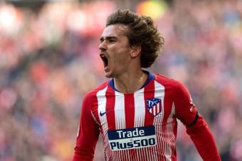 Griezmann substitui Saúl e será o novo '8' do Atlético.EFE