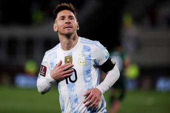 Messi Monumental. EFE