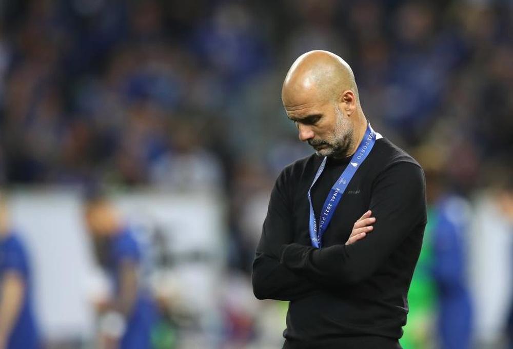 Pep Guardiola falou sobre essa nova Champions que começa hoje. EFE/EPA/Jose Coelho