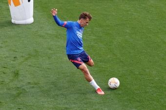 Griezmann could make his Atletico Madrid return against Espanyol. EFE