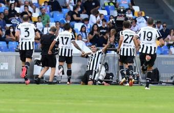 I migliori meme di Napoli-Juventus. EFE