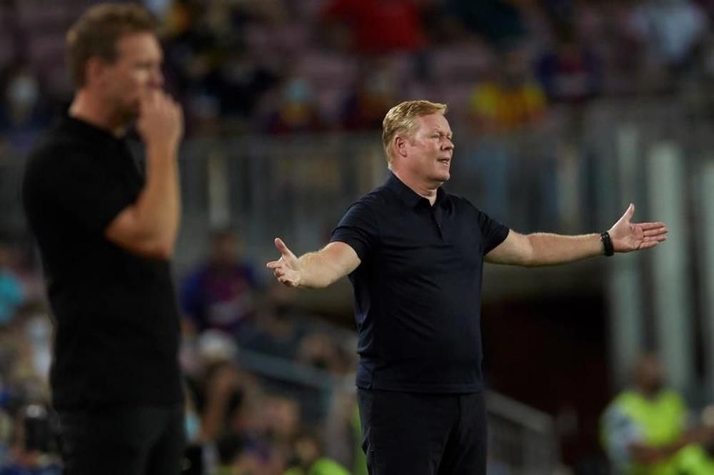 L'avenir de Koeman menacé après la défaite face au Bayern ? EFE