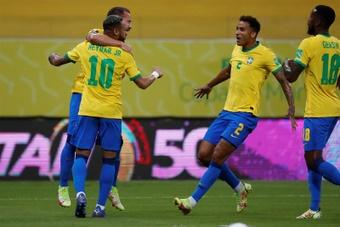 Brasil e Uruguai se enfrentarão em 14 de outubro. EFE/Antonio Lacerda