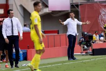 Luis García criticó el hecho de tener que jugar a las 14 horas. EFE