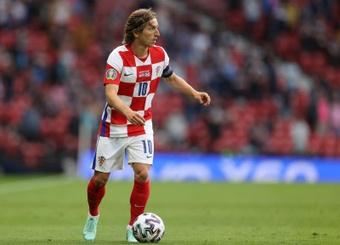 Modric está de volta à Seleção da Croácia. EFE/EPA/Lee Smith