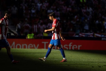 Joao Felix has been hit with a two game ban. EFE