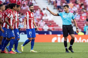 The injury time is saving Atletico. EFE