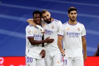 Las posibles alineaciones del Real Madrid-Sheriff. EFE