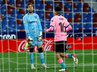 Pedri est de retour dans le groupe du FC Barcelone. EFE