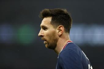 Messi é baixa para o Montpellier.EFE