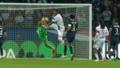 Boateng chocó con Donnarumma. Captura/twitch.tv/Ibai