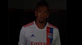 Boateng é o novo reforço do Lyon. Captura/OL