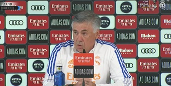 Anceloitti analizó el Valencia-Real Madrid. Captura/RealMadridTV
