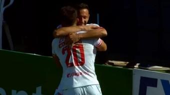 Unión Santa Fe se rehace gracias al 'show' de Corvalán. YouTube/LigaProfesionaldeFútboldelaAFA