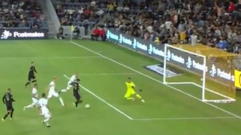 ¡El 'Chicho' Arango hizo el gol más rápido de la historia de Los Angeles FC! Twitter/MLS
