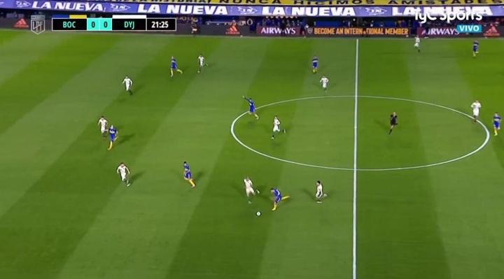 Boca Juniors no pasa del empate a cero ante Defensa y Justicia. Captura/TyCSports