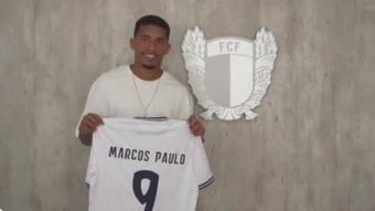 OFFICIEL : Marcos Paulo prêté à Famalicao. Twitter/FCF1931_Oficial