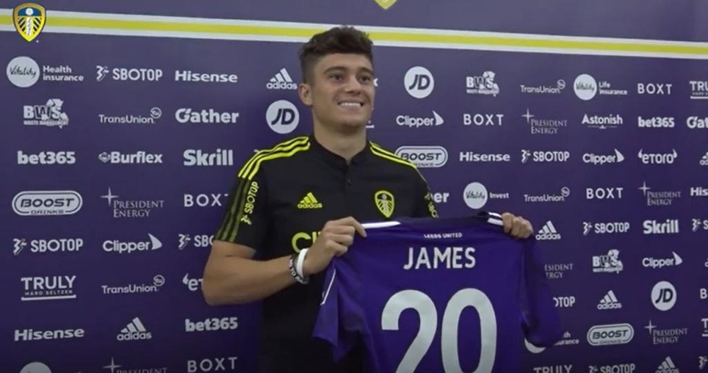 Daniel James has committed to the club until 2026. DUGOUT