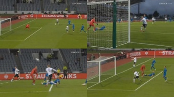 Werner falló lo que solo Werner puede fallar. Captura/RTL