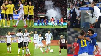 Sorpresas y decepciones de la primera jornada de eliminatorias. EFE/AFP/Agencias