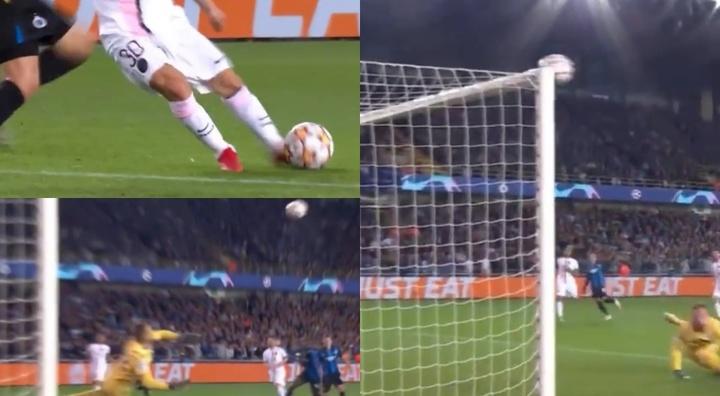 Espectacular acción de Messi. Capturas/MovistarLigaDeCampeones