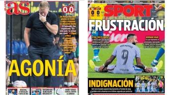 Capas da imprensa desportiva 24 de setembro de 2021.AS/Sport