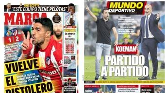 Portadas de la prensa deportiva del 22-09-21. Marca/MD